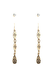 Fashion Women Vintage Metal Drop Earring Set