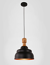 Pendant Light ,  Country Anodized Feature for Mini Style Metal Dining Room Study Room/Office Game Room Garage