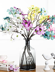 1PC Silk Flowers Household Put Flowers Floral Long Branches Of Polyester / Plastic Others Artificial Flowers