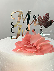 Cake Toppers With Leaf And Flowers