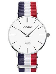 SINOBI® Men's Watch Classic Cambridge Wrist Watch  Slim Quartz Watch Designer Dress Fashion Wristband Clock 2016 Cool Watch Unique Watch