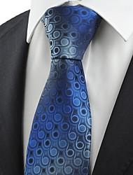 Krawatte(Blau,Polyester)Punkte