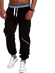 Men's Running Pants/Trousers/Overtrousers Tracksuit Bottoms Breathable Moisture Permeability High Breathability (>15,001g)Yoga Exercise &