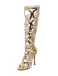 Women's Shoes Leatherette Stiletto Heel Heels /Novelty Sandals / Heels / Fashion Sneakers / LoafersWedding