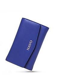 Nawo Donna Vacchetta Porta assegni Blu-N352171