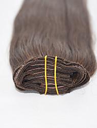 14inch-22inch clipe 7pcs 70g na extensão do cabelo humano reto muitas cores disponíveis