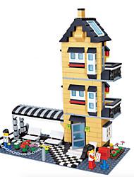 dr wan, le neue Villa Gebäude Plastikblöcke Spielzeug Puzzle zusammengesetzt 32053