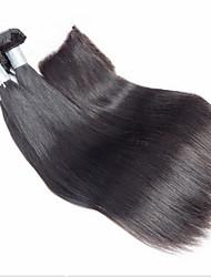3pcs / lot cabelo virgem brasileiro com um fecho de onda do corpo brasileira 3 feixes não transformados com fecho de rendas