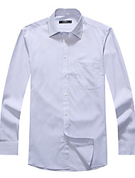 Seven Brand® Men's Shirt Collar Long Sleeve Shirt & Blouse Light Blue-704A3B5859