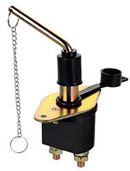 jteon 12v / 24v 250a bateria interruptor de corte para o carro / barco / caminhão - (prata&preto)