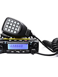 QYT KT-UV980 Walkie Talkie VHF 60W UHF 40W car radio , no battery 400-470MHz / 136-174MHz car radio , no battery >10KMRadio FM / Alarma