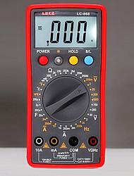 LECE lc868 vermelha para multímetros digitais professinal