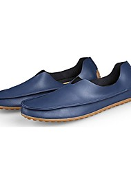 Men's Shoes Wedding / Office & Career/Party & Evening / Dress / Casual Nappa Leather Loafers Big size Blue/Red/Beige