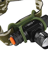 Lights Headlamps / Headlamp Straps LED 1200 Lumens 4 Mode Cree XM-L T6 14500 Adjustable FocusCamping/Hiking/Caving / Everyday Use /