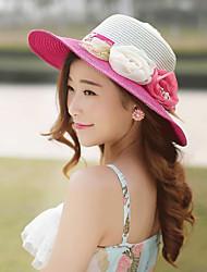 Mujer Sombrero para el sol Fiesta / Casual-Primavera / Verano / Otoño-Paja
