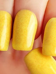 Ekbas Yellow Matte Nail Glue 16ML Nail Polish