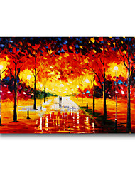 60*90cm Hand Painted Oil Painting Landscape With Frame