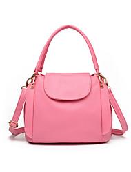 Women PU Flap Shoulder Bag-Multi-color