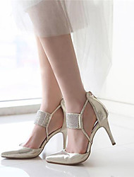 Women's Shoes / Glitter Stiletto Heel Heels / Pointed Toe Sandals / HeelsWedding / Office & Career / Party & Evening