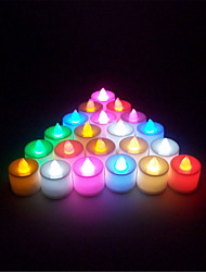 1pcs  Mini Multi Colors LED Electronic Candle Lamp For Wedding Party Christmas Decoration(Random Color)