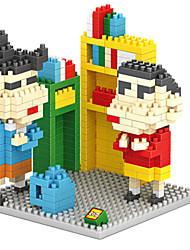 Loz Small New Church and The Wind Loz Diamond Blocks Block Toys DIY Toys(410 Pcs)