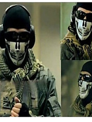 Outdoor Seal Ghost Mask CS Balaclava Mask Military Paintball Half Face Motorcycle Skiing Cycling Ghost Masks