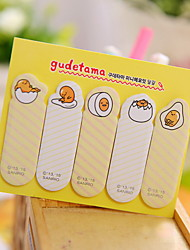Egg Pattern Self-Stick Note Set(1 PCS)