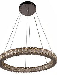 Lustre ,  Contemporain Traditionnel/Classique Rustique Rétro Plaqué Fonctionnalité for Cristal LED MétalSalle de séjour Chambre à coucher