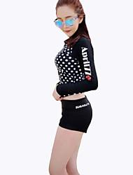 Femme Etanche Respirable Résistant aux ultraviolets Matériaux Légers LYCRA® Tenue de plongée Ensemble de Vêtements/Tenus-Natation Plongée