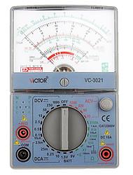 victor vc3021 para o tipo de ponteiro do medidor universal