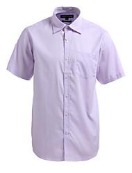 JamesEarl Herren Hemdkragen Kurze Ärmel Shirt & Bluse Lila-M21X5000233