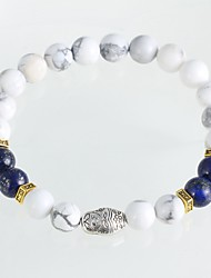 New Arrival Nature Stone Russian Nested Doll Bracelet Strand Bracelets Daily / Casual 1pc