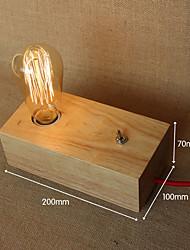 Учебные лампы-Защита глаз-Современный-Дерево/бамбук