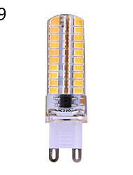 YWXLIGHT E14/G9/G4/E17/E12/E11/BA15D 6W 80 SMD 2835 400-600 lm Warm White/Cool White Dimmable LED Corn Bulb