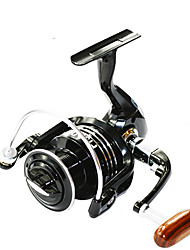FISHDROPS BSLGH3000 5.5:1, 13 Ball Bearings One Way Clutch Spinning Fishing Reel, Right & Left Hand Exchangable