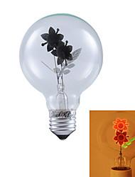 1 Stück YouOKLight E26/E27 3W / COB 220 lm Warmes Weiß B edison Vintage LED Kugelbirnen AC 220-240 V
