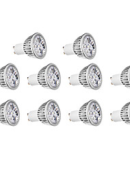 4W GU10 LED Spotlight 4 300 lm Warm White / Cool White AC 220-240 V 10 pcs