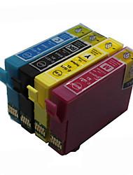 bloom®t1811-t1814 cartouche d'encre compatible pour epson xp-312 / 315/412 / 415 / 225/322 / 325 / 422/425 pleine encre (4 couleurs 1 jeu)