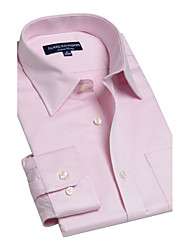 JamesEarl Herren Hemdkragen Lange Ärmel Shirt & Bluse Rosa-BA102040202