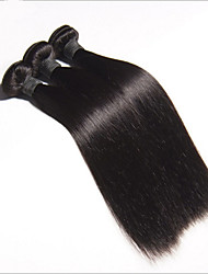 3pcs Peruvian Virgin Hair Straight 8-30inch Peruvian Straight Virgin Hair Remy Human Hair Weave Bundles