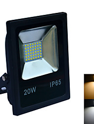 20W Focos LED 42 SMD 2835 1600-1800 lm Blanco Cálido / Blanco Fresco Impermeable AC 100-240 V 1 pieza