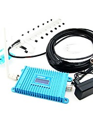 LCD Display GSM980 GSM 900MHz Mobile Phone Signal Repeater , GSM Signal Booster + Yagi Antenna with 10M Cable