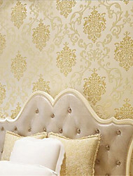 New Rainbow™ Classical Wallpaper Art Deco Gold foil wallpaper Wall Covering Non-woven Paper Wall Art
