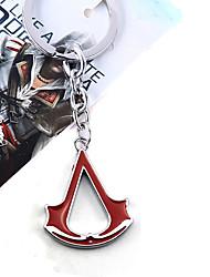 Jóias Inspirado por Assassin's Creed Fantasias Anime/Games Acessórios de Cosplay Colares Preto / Vermelho / Azul Liga Masculino / Feminino
