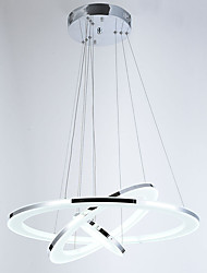 0.5 Lámparas Colgantes ,  Moderno / Contemporáneo Cromo Característica for Cristal / LED MetalSala de estar / Dormitorio / Comedor /