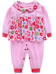 Completo Girl Cotone Primavera Rosa