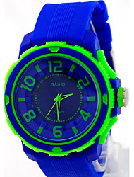 Men's Fashion Student Silicone Watch Cool Watch Unique Watch