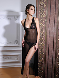 Women Sexy Backless Chemises & Gowns / Ultra Sexy Nightwear,Nylon / Polyester