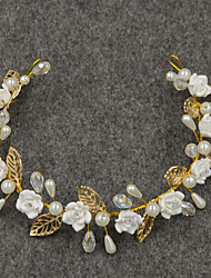 Women's / Flower Girl's Alloy / Cubic Zirconia Headpiece-Wedding / Special Occasion / Casual / Outdoor Headbands 1 Piece