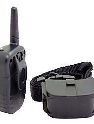 Chien aboiement / Colliers d'Entraînement pour Chien 300M / Anti Bark / Télécommande / Choc / Electronique/Electrique / LCD NoirMatières